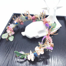 Load image into Gallery viewer, floral nymph crown