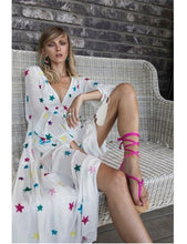 Load image into Gallery viewer, stellar long sleeve maxi dress