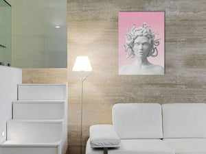 medusa's aesthetics canvas print