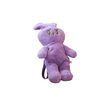 Load image into Gallery viewer, plush bunny backpack