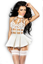 Load image into Gallery viewer, body cage bustier harness dress