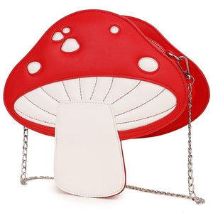 magic mushroom crossbody bag