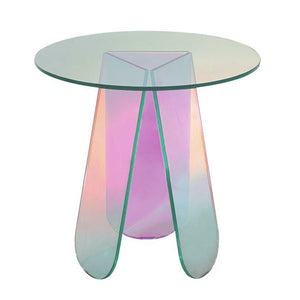 iridescent fantasy side table