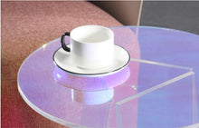 Load image into Gallery viewer, iridescent fantasy side table