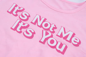 it's you baby doll crop tee