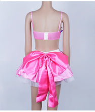 Load image into Gallery viewer, pink plush doll costume set
