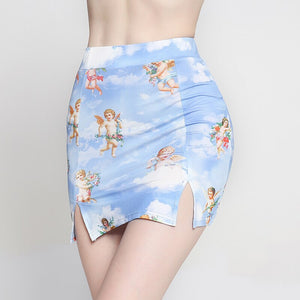 angel baby mini skirt