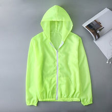 Load image into Gallery viewer, ultra thin hooded windbreaker