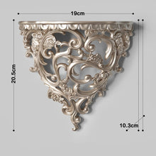 Load image into Gallery viewer, ornate french scroll wall shelf