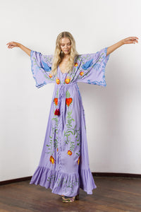 the may queen maxi dress