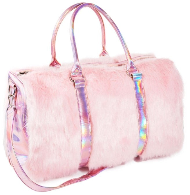 cotton candy shagadelic weekender bag