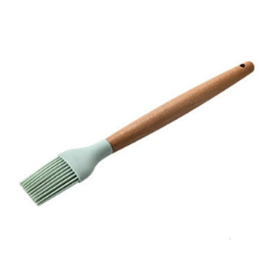 Image of Wooden Silicone Kitchen Utensil Nonstick Utensils Cooking Tool Spoon Soup Ladle Turner Spatula Tong Cookware Baking Gadget