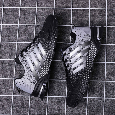 Image of 2019 Spring Fashion Men Sneaker Shoes Women Flyknit Breathable Lightweight Wearable Casual Men Shoes Luxury Brand Zapatos Hombre