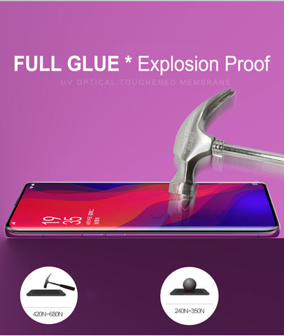 Image of UV Tempered Glass For Samsung Note 9 8 S9 S8 S7 Edge 5D Full Liquid Glue Screen Protector For Samsung Galaxy Note 8 S8 S9 Plus