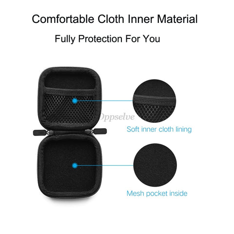 Mobile Phone Accessories Headphone Case Hard Box Bag For Apple Airpods Earpods Earphone USB Cable Charger Card Storage Package