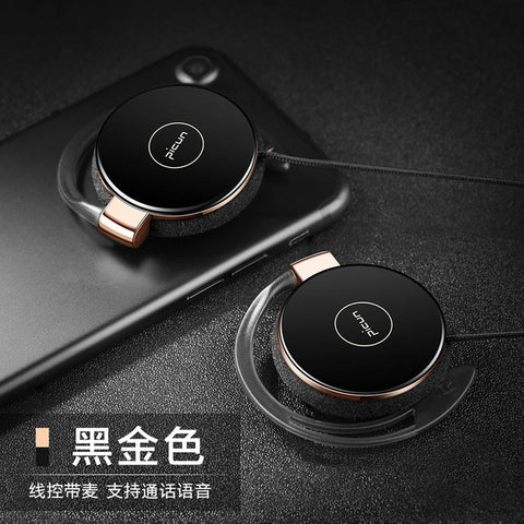 Image of Super Bass Headphones Noise Canceling Headset Ear Hook Music Headphones with Mic For Ipods Computer Mp3 Player Mobile Telephone