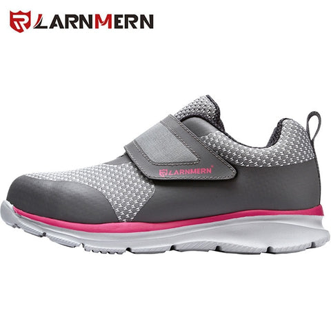 Image of LARNMERN Men's Safety Shoes Steel Toe Construction Protective Footwear Lightweight 3D Shockproof Work Sneaker Shoes For Men