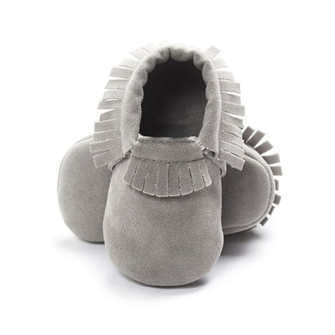 Image of Hot Baby Shoes New Autumn/Spring Newborn Boys Girls Toddler Shoes PU Leather Baby Moccasins Sequin Casual Sneakers 0-18M