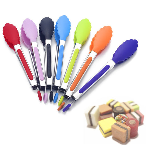Image of 1PC Stainless Steel Food Folder Kitchen Restaurant For Food Bread Fruit Vegetables Folder Bread Clips Household Kitchen Tool