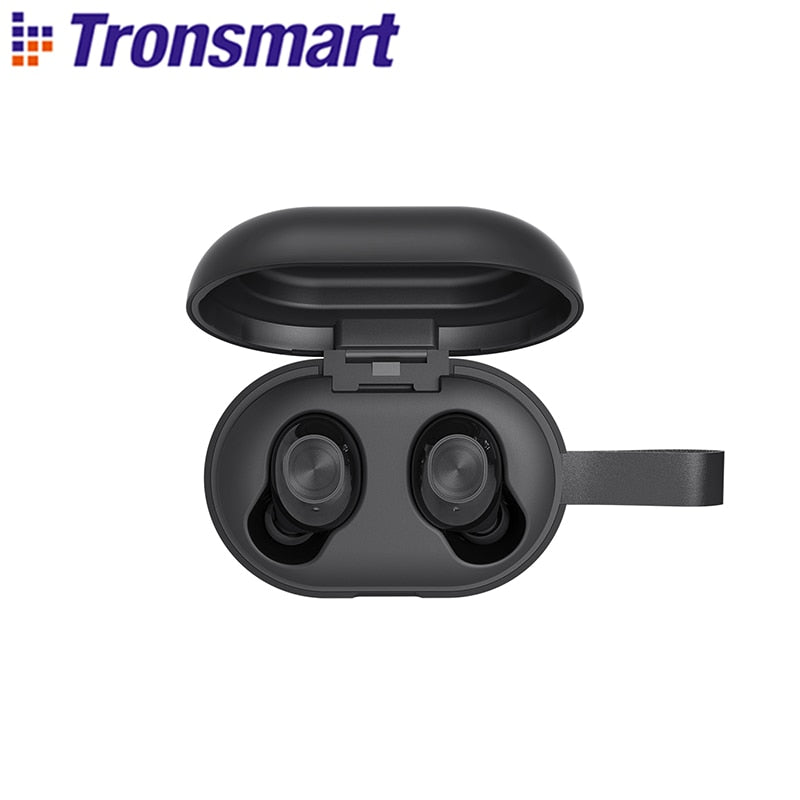 Tronsmart Spunky Beat Bluetooth TWS Earphone APTX Wireless Earbuds with QualcommChip, CVC 8.0, Touch Control, Voice Assistant