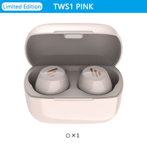 EDIFIER TWS1 TWS Earbuds Bluetooth v5.0 aptX Touch control IPX5 rated Ergonomic design wireless earphones Bluetooth earphone