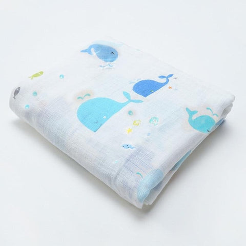 Image of Muslin Baby Blankets Swaddles Newborn Photography Accessories Soft Swaddle Wrap Organic Cotton Baby Bedding Bath Towel Swaddle