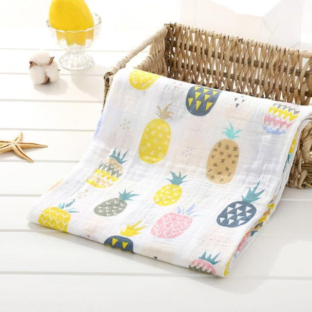 Muslin Baby Blankets Swaddles Newborn Photography Accessories Soft Swaddle Wrap Organic Cotton Baby Bedding Bath Towel Swaddle