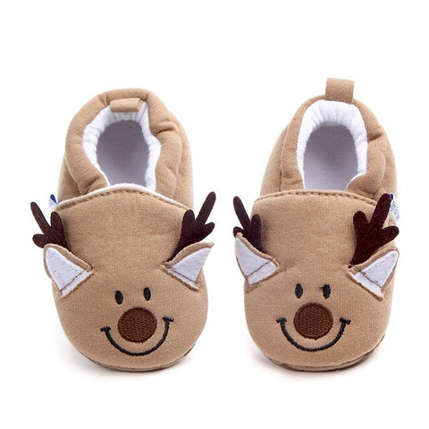 Image of Baby Shoes Girls Boy First Walkers Newborn Slippers Baby Girl Crib Shoes Footwear Prewalker 0-18M