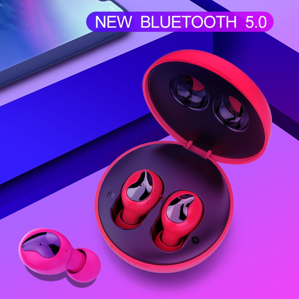 WELTEAYO Xi9 Bluetooth 5.0 Headset Wireless Stereo Headphone TWS Bluetooth Earphone In-Ear Handsfree Earbuds With Mic For Phones