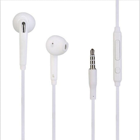 Image of 3.5mm jack Headset Earphone Microphone Volume Control for Samsung Galaxy S9 S8 Plus S7 S6 Edge Note 8 Handfree Headphone Earbuds