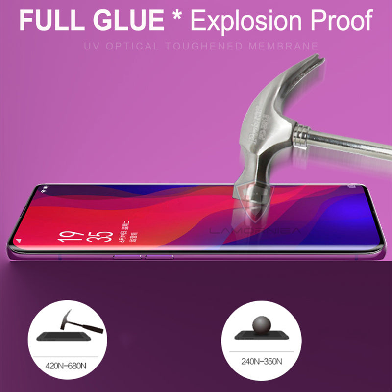 UV Tempered Glass For Samsung Note 9 8 S9 S8 S7 Edge 5D Full Liquid Glue Screen Protector For Samsung Galaxy Note 8 S8 S9 Plus