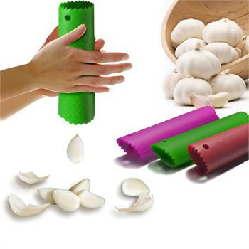 Useful Magic Silicone Garlic Peeler Peel Easy Practical Home Kitchen Tool S