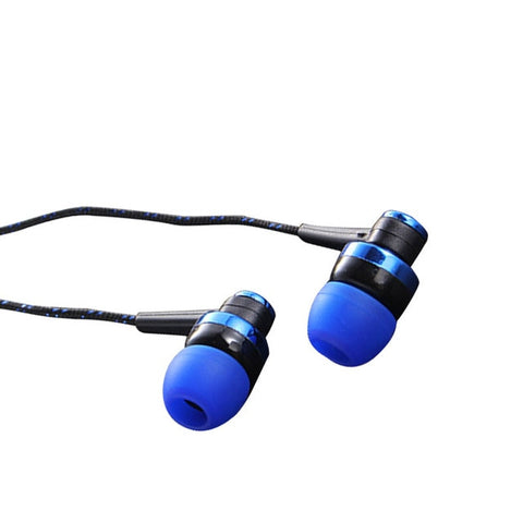Image of Handfree Stereo Bass Earphone Wired Earbuds headset In Ear Earbus Earpiece 3.5mm with Microphone For Iphone Samsung Xiaomi MP3