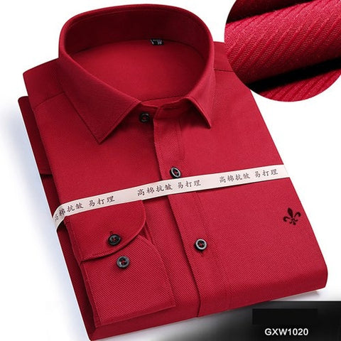 Image of Dudalina 2019 Brand Men Shirt Male Dress Shirts Men's Fashion Casual Long Sleeve Business Formal Shirt Camisa Social Masculina