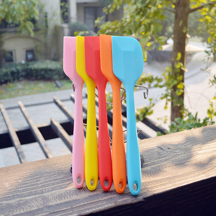 Sweet Color Silicone Shovel Cake Spatula Non-stick Food Lifters Home Cooking Utensils Kitchen Utensil Gadget Tools 21.5*4.3cm