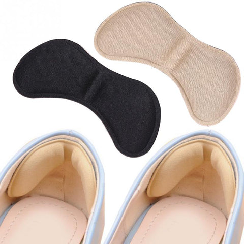 Image of 5 Pairs Adhesive Patch Insole Cushion Pads Anti-wear Heel Liner Pain Relief Shoes Accessories