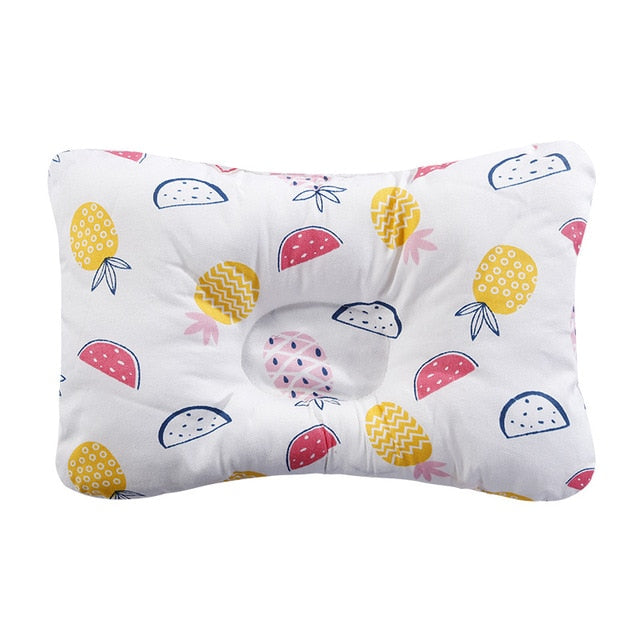 [simfamily]Baby Nursing Pillow Infant Newborn Sleep Support Concave Cartoon Pillow Printed Shaping Cushion Prevent Flat Head