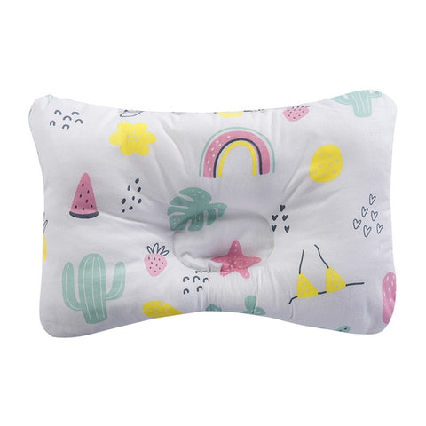 Image of [simfamily]Baby Nursing Pillow Infant Newborn Sleep Support Concave Cartoon Pillow Printed Shaping Cushion Prevent Flat Head