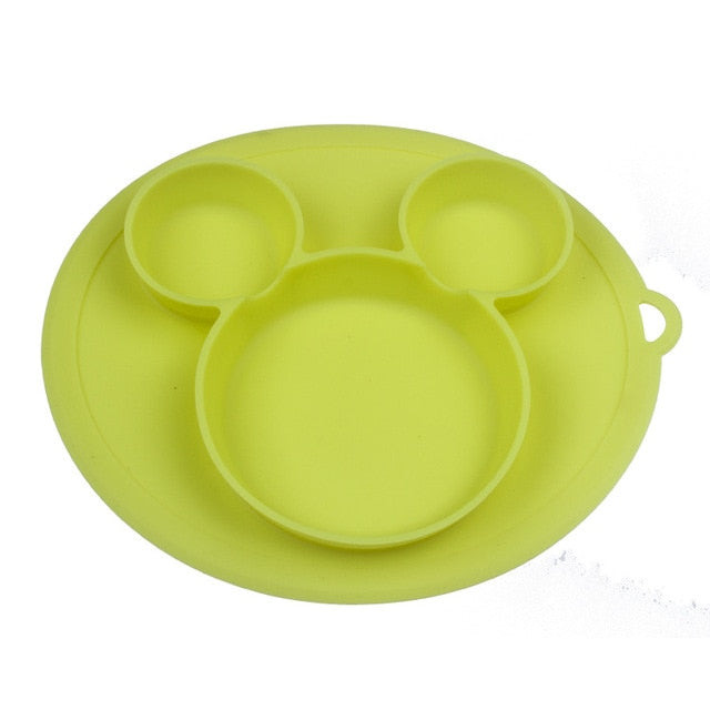 Baby silicone plate Kids Bowl Plates baby feeding silicone bowl baby silica gel dishes kids tableware