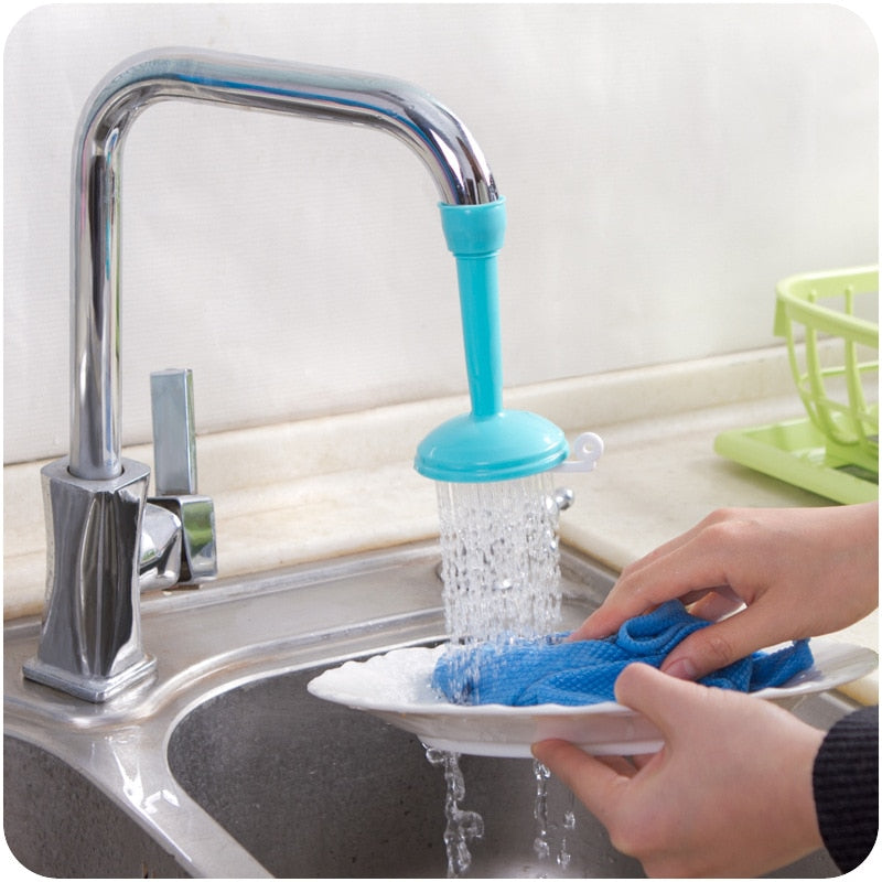 Happy Home Swivel Water Saving Tap Aerator Diffuser Tap   Connector 3 colors   kitchen utensils
