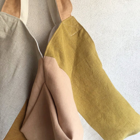 Aurore Thibout: Patchwork Bags feat. Naturally Dyed Linen