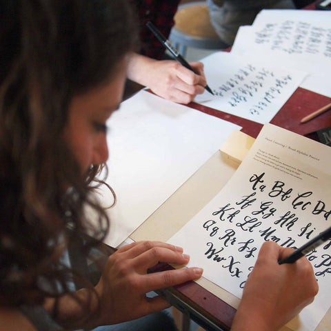 Hand Drawn Lettering Workshop w/ Leigh Wells: Wednesday, 1/23, 6-8 p.m.