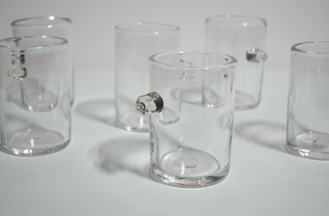 Maria Enomoto: Clear Glass Nub Cup