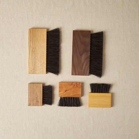 Hannah Quinn: Horsehair Block Brushes