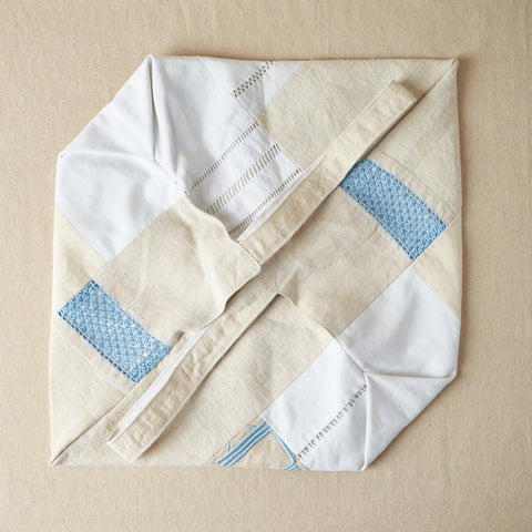 Aurore Thibout: Patchwork Bags feat. Vintage French Linen