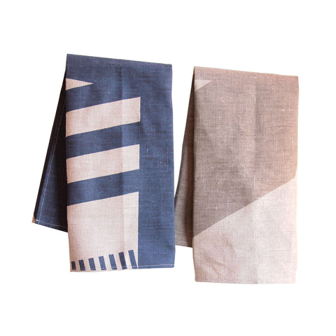 Stephanie Syjuco: Dazzle Tea Towels