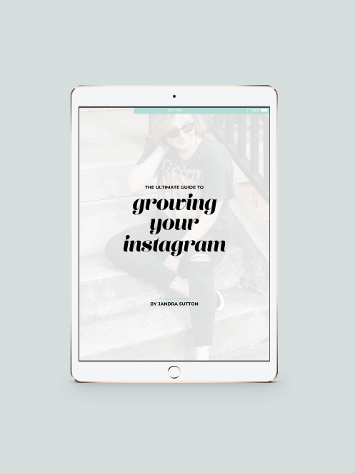 The Ultimate Guide to Growing Your Instagram - jandralee.com/shop