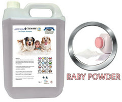 Carpet Cleaning Shampoo Solution Pet odour eliminator Baby Powder Low Foam 5ltr