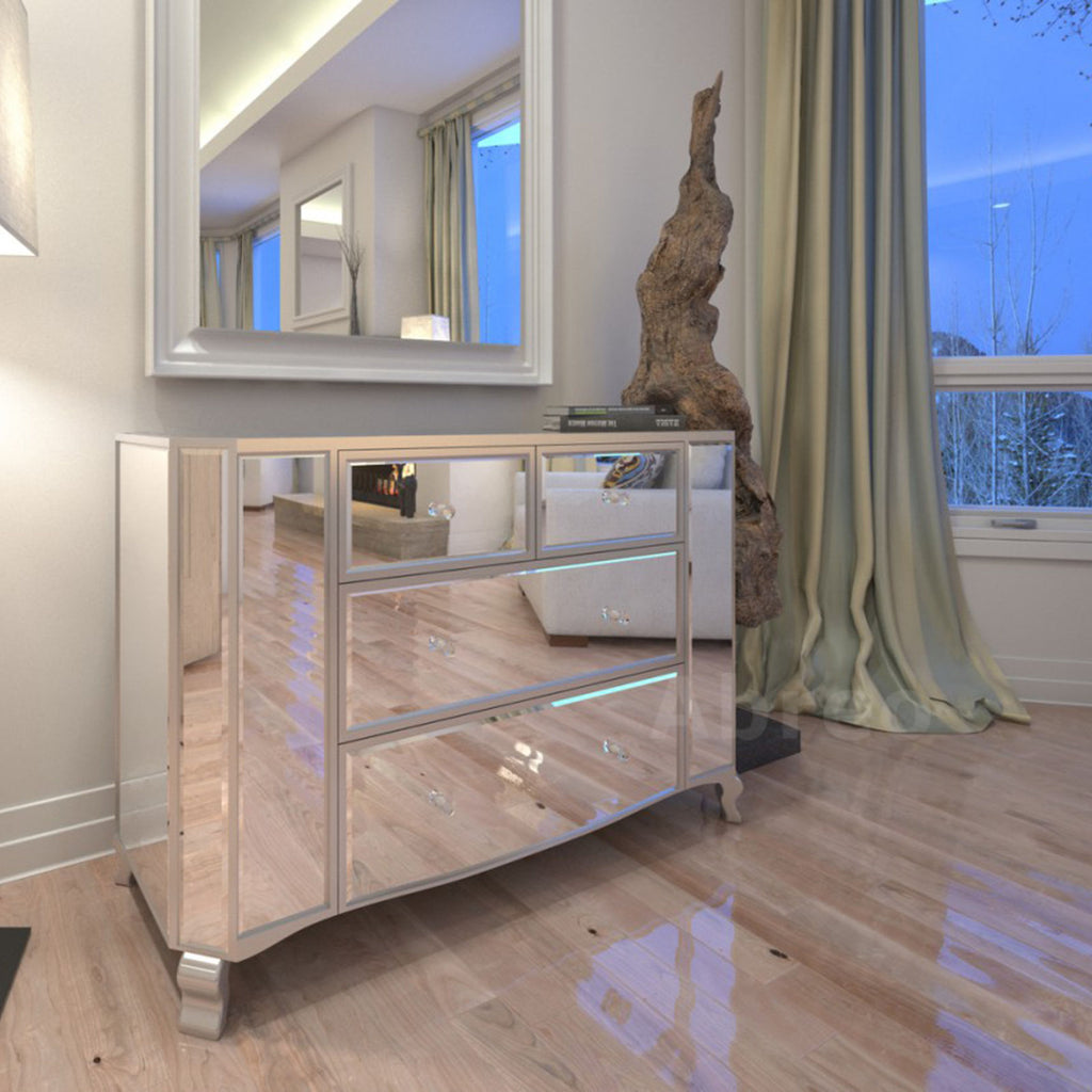 Mirrored Drawer Furniture