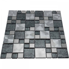 Luxury Textured Mosaic Wall Tiles Sheet (Price per Sheet)
